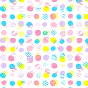 Funny polka dot