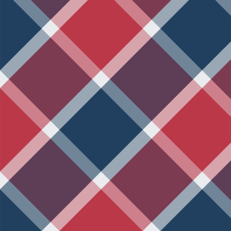 Nautical blue marine check fabric by danadu on Spoonflower - custom fabric