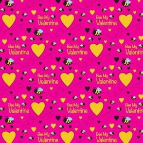 Bee My Valentine (Pink)