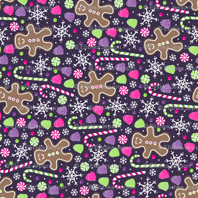 Jolly Gingerbread (Rotated)