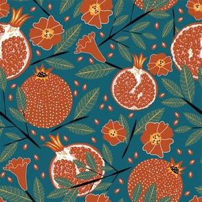 Palette-able Pomegranates