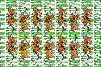 Jungle Tigers Tea Towel