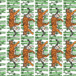 Jungle Tigers Tea Towel