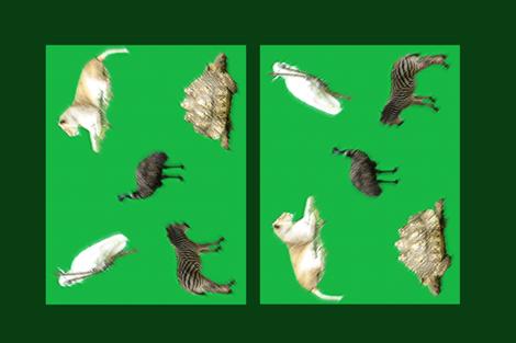 Animal Collection fabric by b2b on Spoonflower - custom fabric