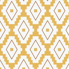 Boho Aztec | Yellow