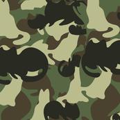 Catmouflage pattern, Green