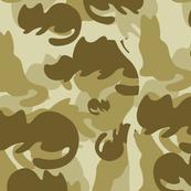Catmouflage pattern, Yellow
