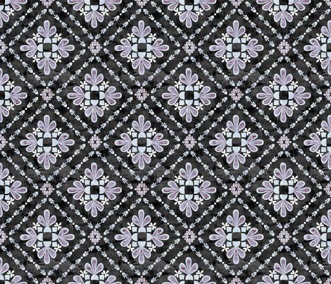 boho basic_04_grey fabric by schatzibrown on Spoonflower - custom fabric