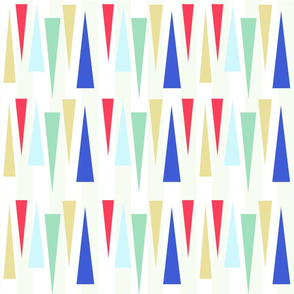 Med Century Mod Triangles