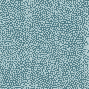 Large Shagreen in Aqua Teal