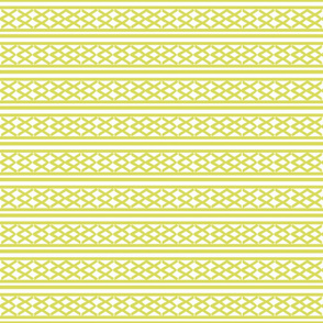 Lattice row SMALL448- lemongrass