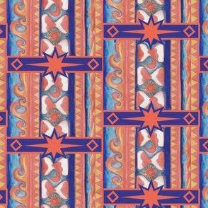 Desert Hourglass Stripes