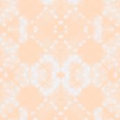 Peach shibori