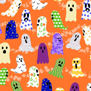 Ghosts in Designer Sheets - large scale