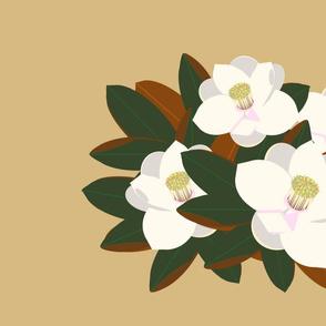 magnolia placemat-praline