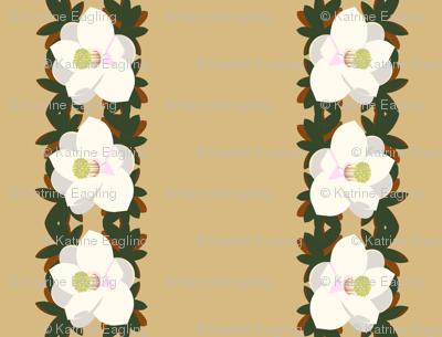 magnolia border-praline
