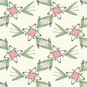 Geometric Flower Garden