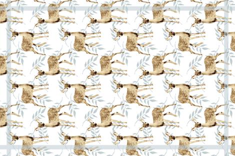 Deer Me!  fabric by lauriekentdesigns on Spoonflower - custom fabric