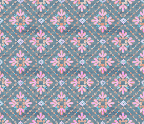 boho basic_04_slate fabric by schatzibrown on Spoonflower - custom fabric
