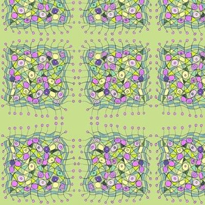 persian rug-green