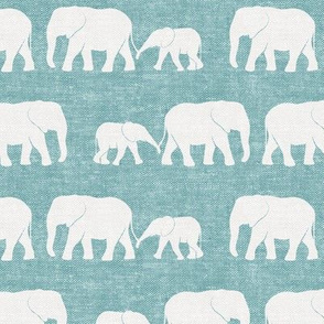 elephants march - adventure blue