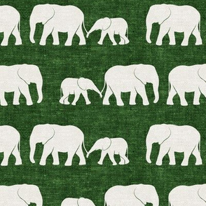 elephants march - green