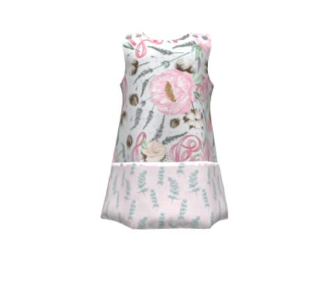 Pink Love Ribbon (linen)