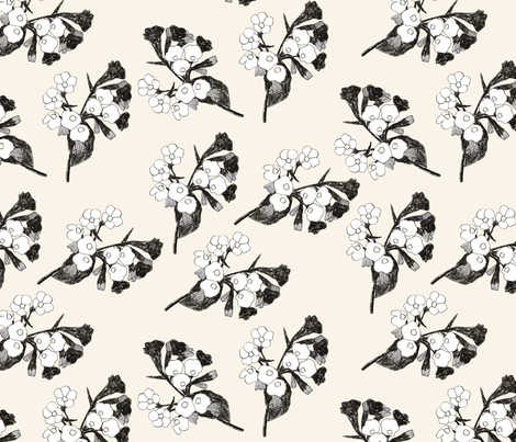 Lungwort fabric by juliaschumacher on Spoonflower - custom fabric