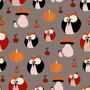 owls_pumpkins-bgbrown