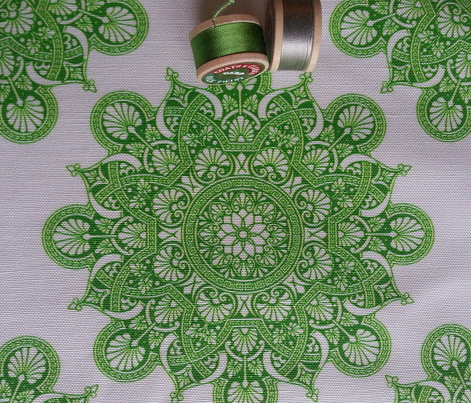 fortune mandala green