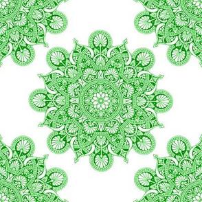 fortune mandala green