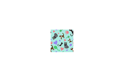 Crazy Cats fabric by iylasav on Spoonflower - custom fabric