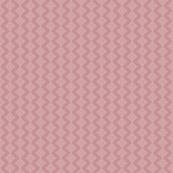 Rabbit Chevron Diamond White on Vintage Pink