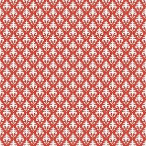 Mini Jacquard - Summer Farm - Red
