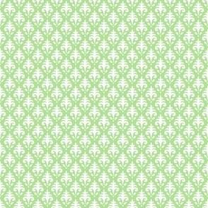 Mini Jacquard - Summer Farm - Apple Green