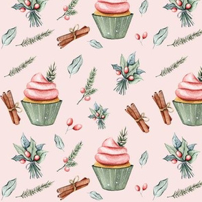 """6"""" Festive Cupcakes // Blush"""