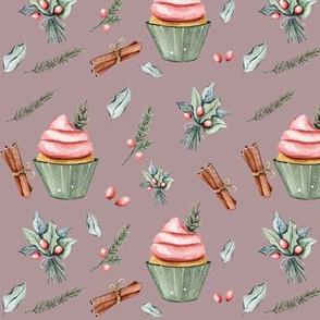 """6"""" Festive Cupcakes // Del Rio"""
