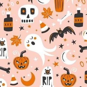 Halloween Haunting - Blush Pink