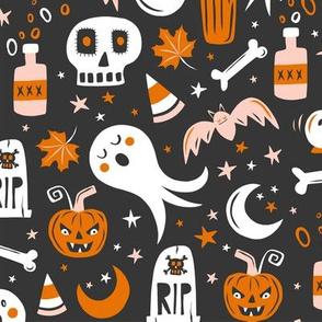 Halloween Haunting - Black