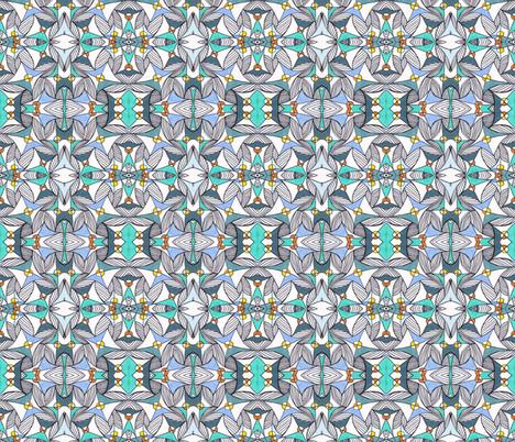 Umbrellas ll fabric by unclemamma on Spoonflower - custom fabric