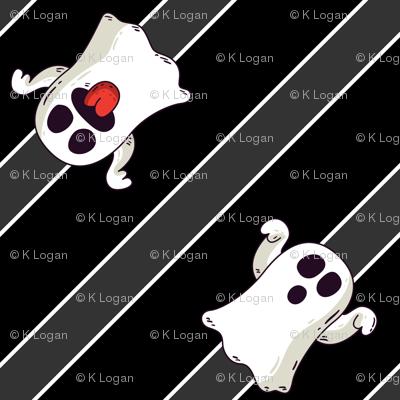 Halloween Ghosts Cute-01
