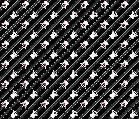 Halloween Ghosts Cute-01 fabric by khaus on Spoonflower - custom fabric