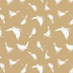 Garden Birds shadows