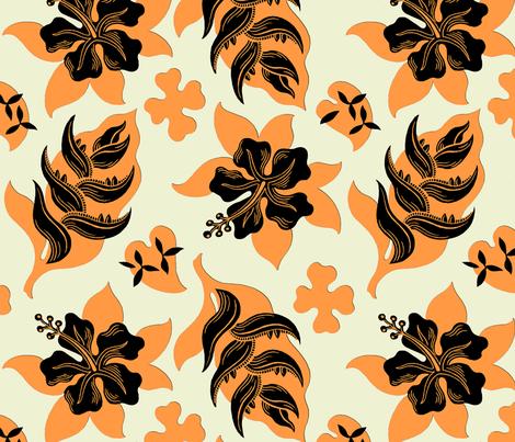 Royal Hawaiian 1d fabric by muhlenkott on Spoonflower - custom fabric