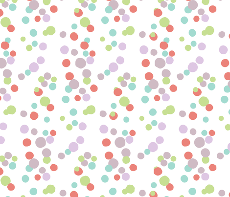 Budding Out-Spring fabric by lulularch on Spoonflower - custom fabric