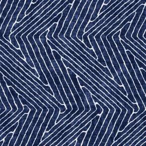 Zigzag Grid Motif