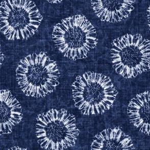 Shibori Floral Motif