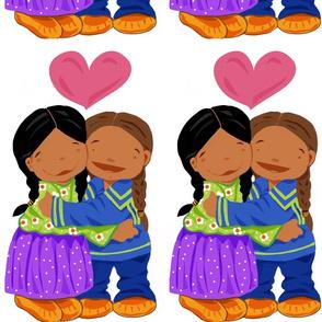 Ojibway sweethearts