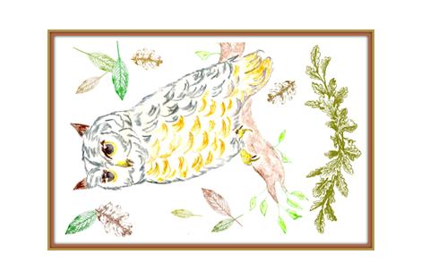 owl fabric by female_farmer on Spoonflower - custom fabric