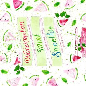 Watermelon Mint Smoothie - © Lucinda Wei